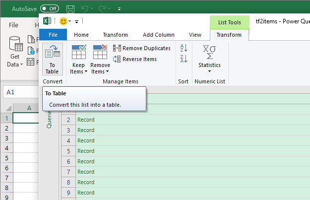 Import JSON Data in Excel 2016 or 2019 or Office 365 using a