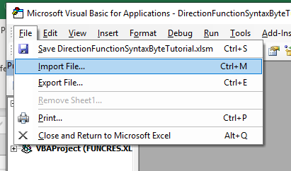 Excel Function to Calculate Travel Time and Distance using