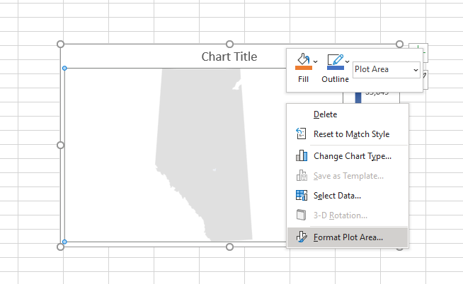 Screenshot showing the right click menu.